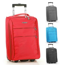 "Foldable Rolling 20"" Bag Carry on Luggage Travel Lightweight"