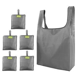 Folding-Reusable-Grocery-Bags-Shopping-bag with Pocket Folde