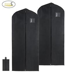 Magicfly Garment Bags with Shoe Bag, Premium Quality 54 Inch