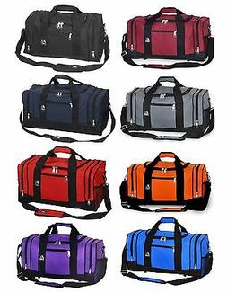 Gym Sport Travel Bag Trip Work out All Purpose Large Duffel