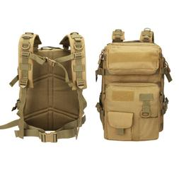 Heavy Duty Multi-Functional Tactical Pack Sport Backpack Cam