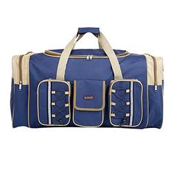 Heavy-duty Oxford 65L Extra Large Foldable Carry On Travel S