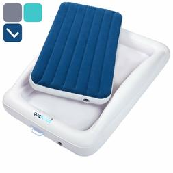 Inflatable Toddler Travel Bed With Safety Bumpers Portable B