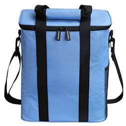 Insulated Picnic Bag, Nuovoware 20L Large Capacity Foldable