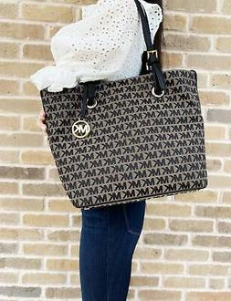 jet set travel grab bag signature jacquard