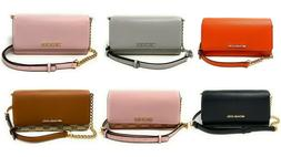 Michael kors Jet Set Travel Large Wallet On A Chain Leather