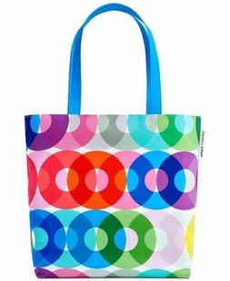 CLINIQUE KAPITZA Shoulder Travel Tote Bag Multi-Color Rainbo