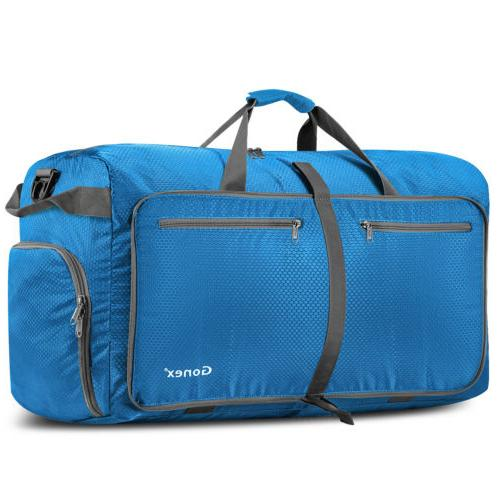 10 Gonex Foldable Travel Duffel Bag Water & Resistant