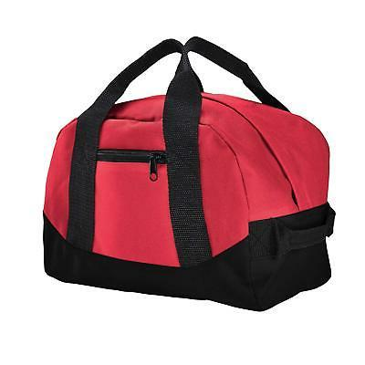 """12"""" Duffel Sports Gym Carry-on Luggage Two Tone"""