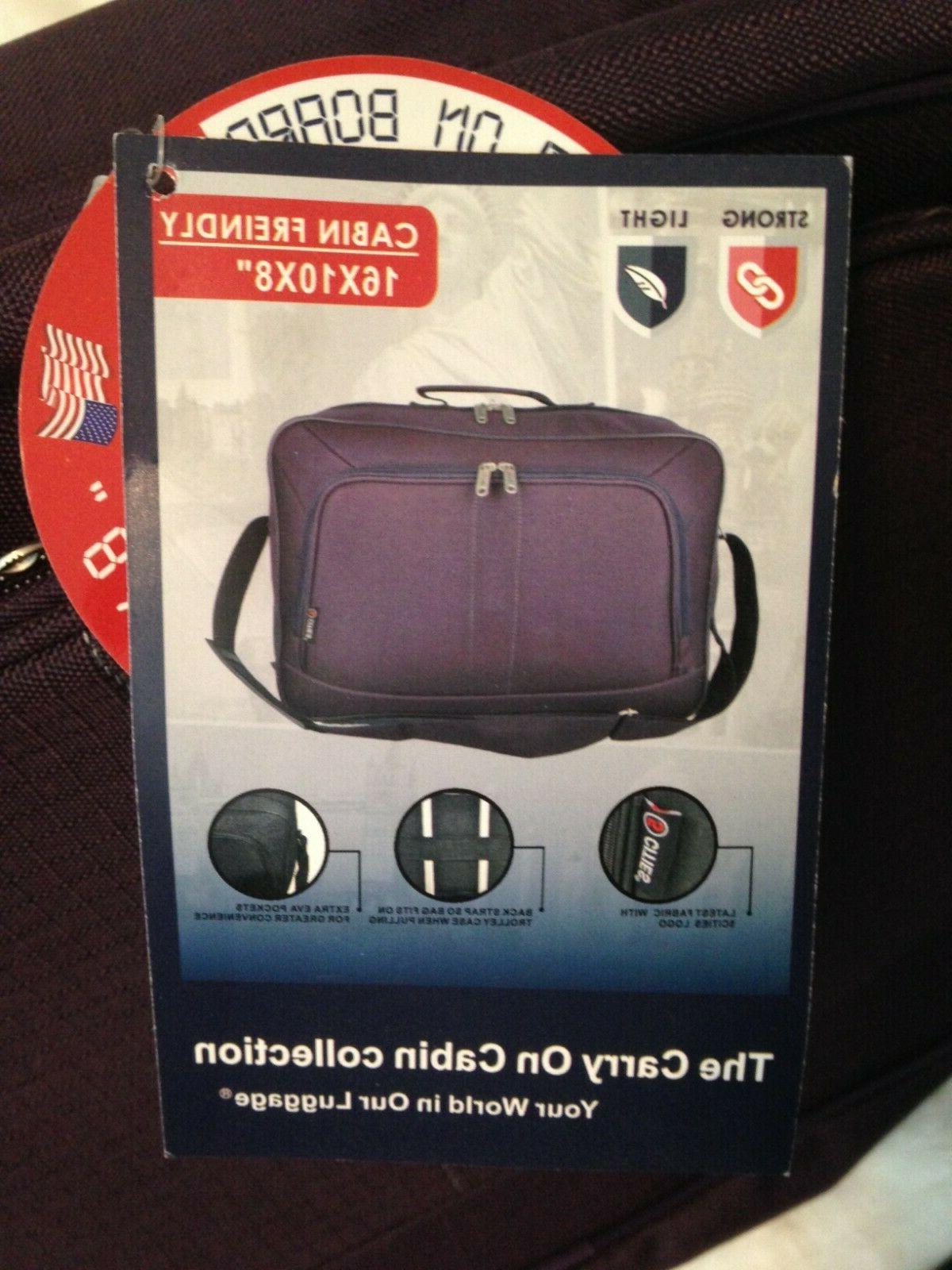 5 Cities Carry On Hand Luggage Flight Duffle NWT