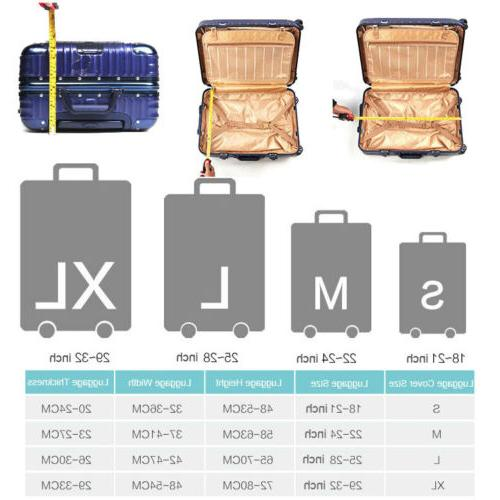 "18""-32"" Travel Luggage Suitcase Proof Bag Anti"