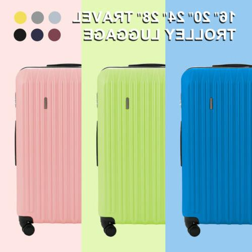 20/24/28'' Luggage Travel Bag Set Trolley Case Carry On