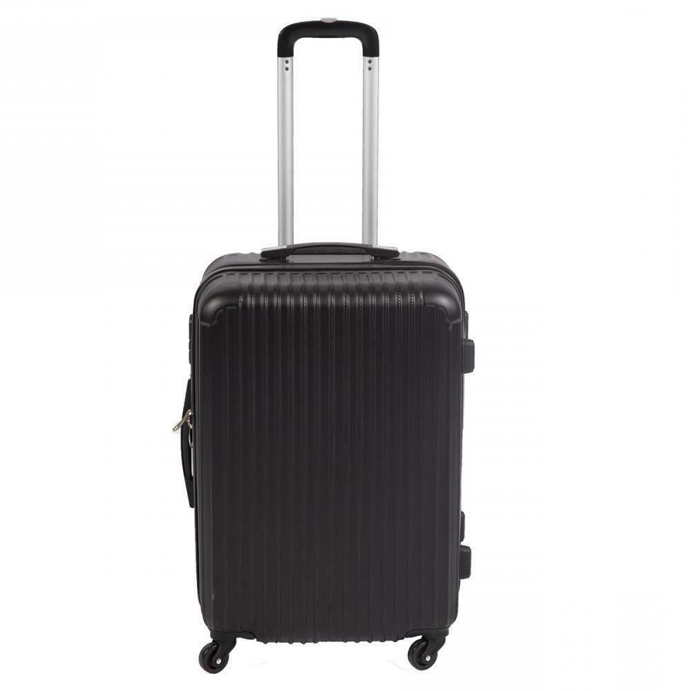 "20"" HardShell Luggage Travel Bag ABS Trolley Suitcase 4 Whee"