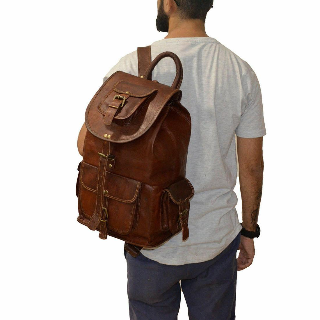 20 new large genuine leather back pack