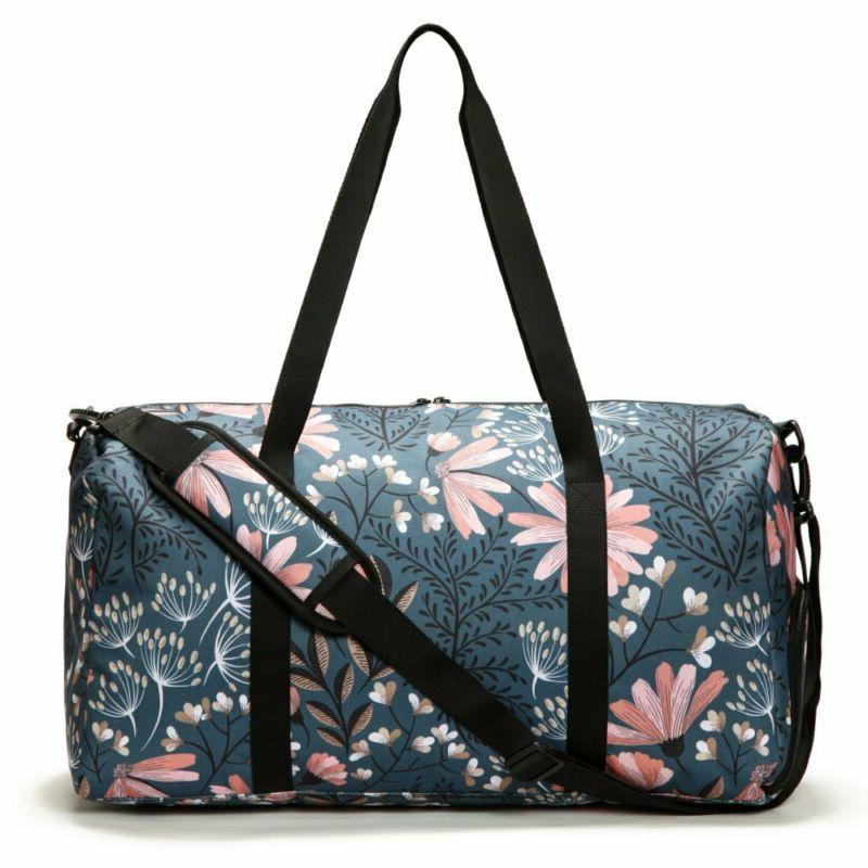 Jadyn B Weekender Bag with Shoe Pocket, Navy