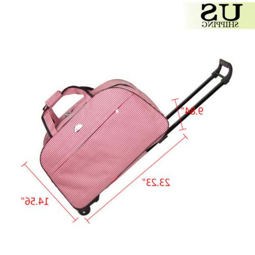 """24"""" Wheeled Trolley Carry On Travel"""