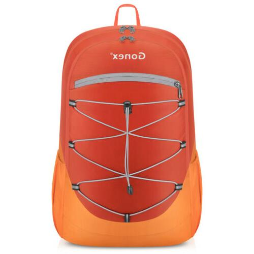 Gonex Lightweight Backpack Handy Travel Hiking Daypack Camping