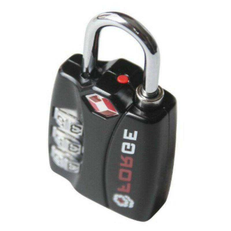3 Digit Combination Travel Luggage Locks, Airport Suitcase L