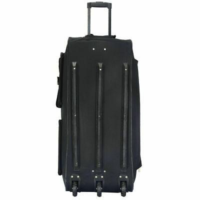 "36"" Wheeled Tote Duffle Bag Duffle Suitcase New"