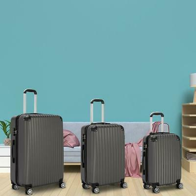 3Pcs Travel Trolley Truely TSA Lock
