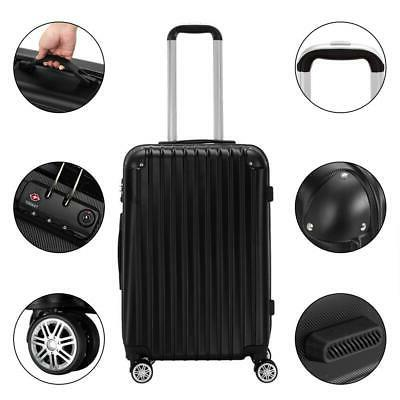 3Pcs Luggage Trolley Truely 20/24/28""