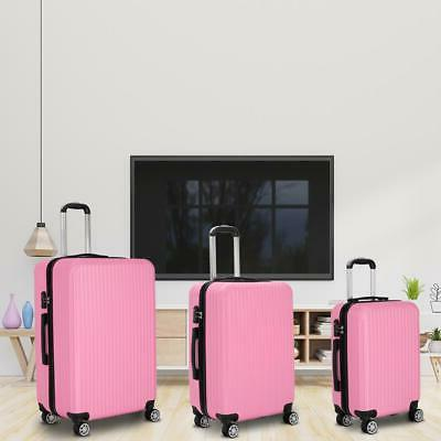 3Pcs Trolley Suitcase Truely TSA