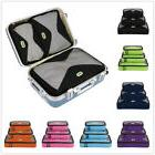 4Pcs Travel Storage Bag Waterproof Clothes Packing Cube Lugg