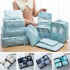 5/7/9 Pieces Waterproof Shoes Organizer Travel Bags Cosmetic