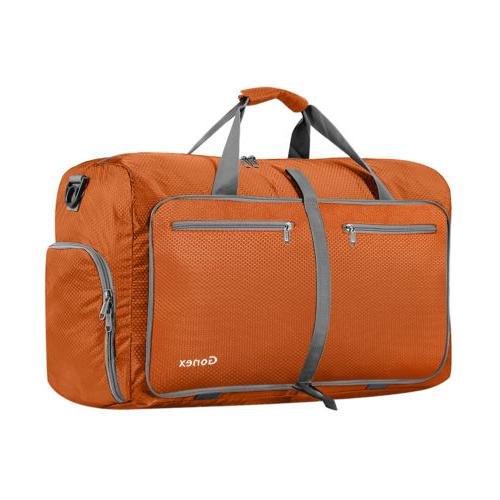 6 colors 40l foldable luggage duffel bag