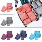 6Pcs Waterproof Travel Clothes Storage Bags Luggage Organize