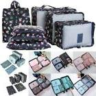 7PCS Waterproof Clothes Storage Bags Shoes Packing Cube Trav