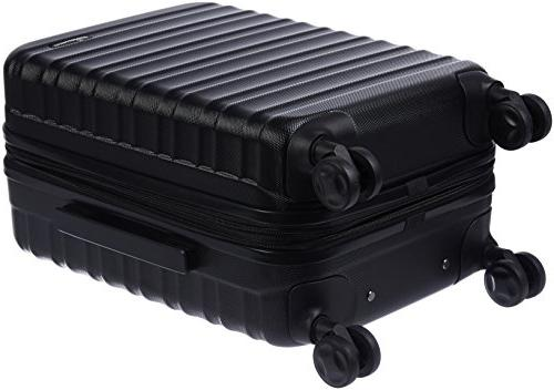 AmazonBasics Hardside Luggage - Black