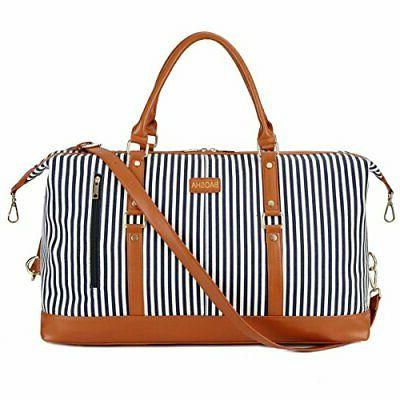 BAOSHA HB-14 Canvas Travel Tote Duffel Bag Carry on Weekende