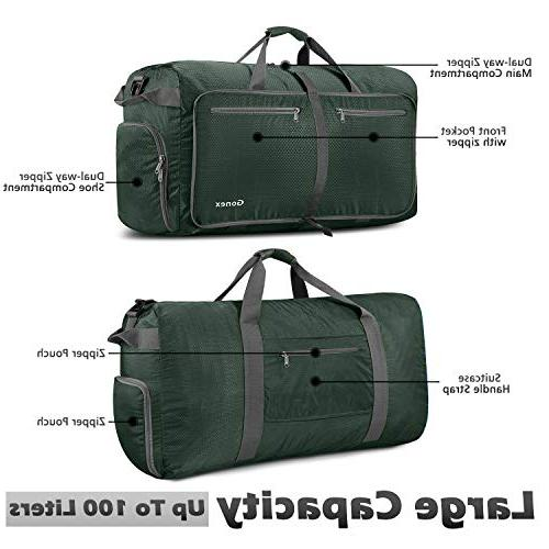 Gonex 100L Gym Sports, Lightweight Travel Bag with Water