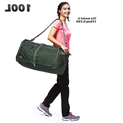 Gonex 100L Foldable Duffel for Luggage Gym Bag with Water