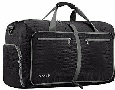 Gonex 60L Foldable Travel Duffel Bag Water and Tear Resistan