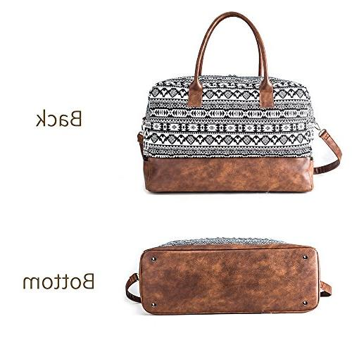 MyMealivos Overnight Duffel Tote Shoe Pouch