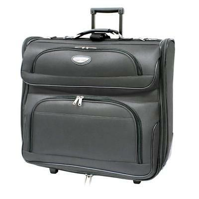 Travel Business Rolling Garment Bag Luggage Suit Cases Cloth