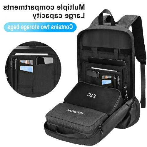 anti theft backpack men business unisex schoolbag