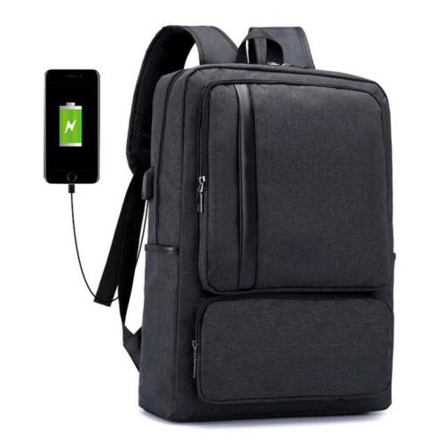 antitheft men women usb charging port backpack