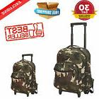 Backpack With Wheels For Boys Rolling School Travel Bag  Kid