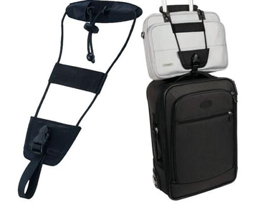 Bag Bungee Black One Size Luggage Strap Attachment Travel Ca