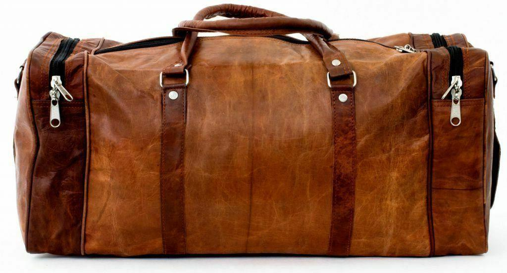 Bag Luggage Large Duffel Gym Brown