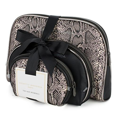 bags compact toiletry bag set