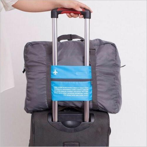 Big Foldable Storage Shoulder Duffle Bag