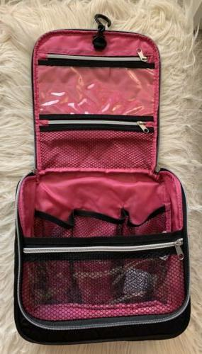 Caboodles Black Quilted Travel