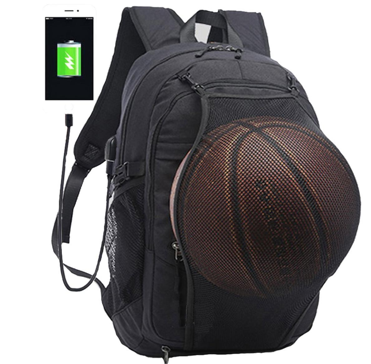 Business Laptop Backpack, Anti Theft Travel Bag with Basketb