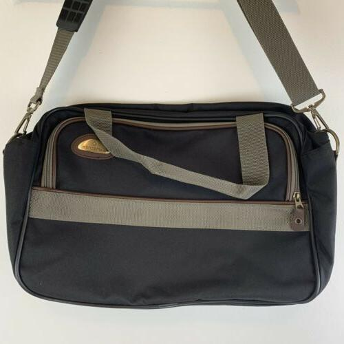 canvas travel case carry on duffle bag