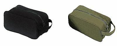 canvas travel shave kit bags military style