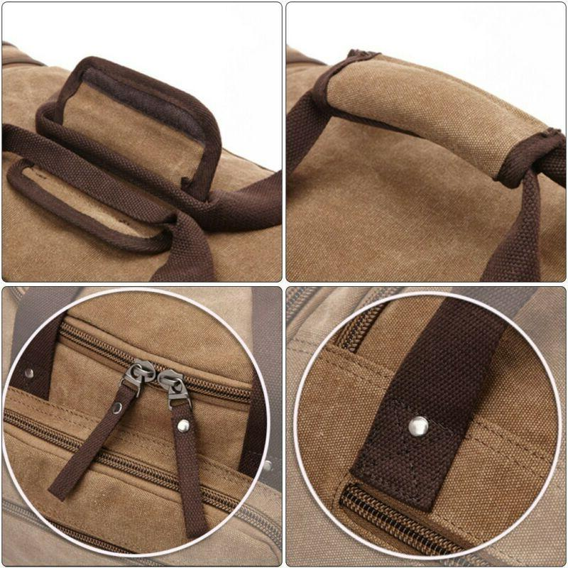 Canvas Luggage Large Shoulder & Strap